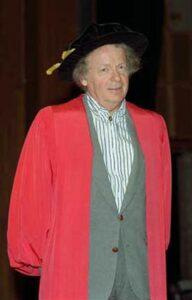 Awarded honorary doctorate - Memorial University 2001