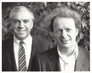 Ed Broadbent and Anton Kuerti