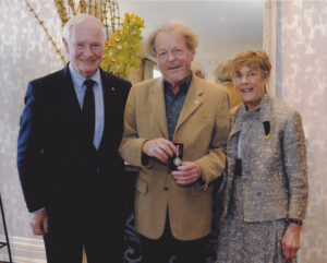 Anton receives Diamond Jubilee Medal from R.H. Donald Johnson 2012