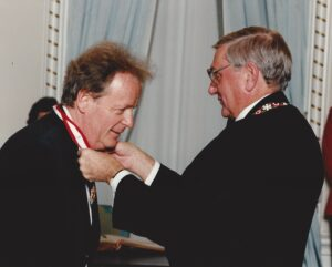 Anton receives the Order of Canada from The R.H. Roméo LeBlanc
