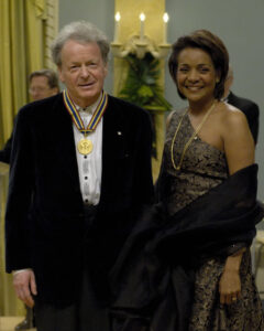 Anton receives GG Performing Arts Award for Lifetime Achievement, 2008 from R.H. Michaëlle Jean