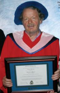 Honorary doctorate - Brandon University 2012
